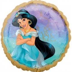 "Disney Princess Jasmine 18"" Foil Balloon"