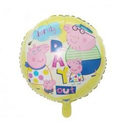 "Peppa's Family 18"" Foil Balloon"