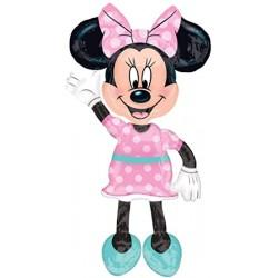 """Minnie Airwalker Foil Balloon 54""""H"""