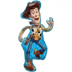 """Toy Story Woody Shape 44"""" Foil Balloon"""