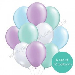 Latex Balloon Bouquet - Style 32 (with weight)