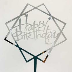 Cake Topper - Happy Birthday (05)