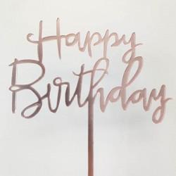 Cake Topper - Happy Birthday (10)