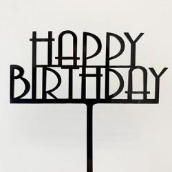 Cake Topper - Happy Birthday (07)
