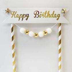 Cake Topper - Happy Birthday (08)