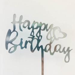 Cake Topper - Happy Birthday (09)