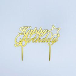 Cake Topper - Happy Birthday (11)