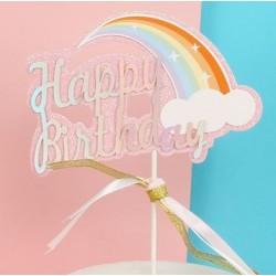 Cake Topper - Happy Birthday (12)