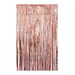 Tassel Curtain Backdrop - Rose Gold