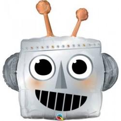 """Robot Head Shape Foil Balloon - 35""""H"""