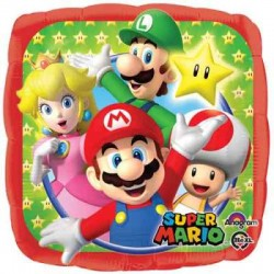 "Mario Brothers 18"" Foil Balloon"