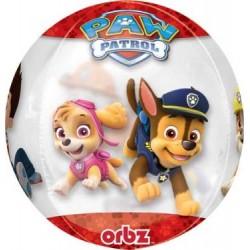"Paw Patrol Orbz Foil Balloon - 15"" W x 16"" H"