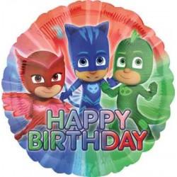 "PJ Mask Birthday 18"" Foil Balloon"