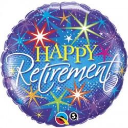 "Retirement Colorful 18"" Foil Balloon"