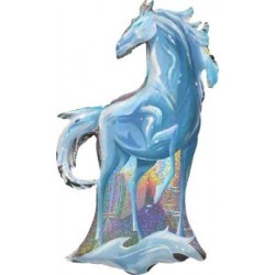 "Disney Frozen II Nokk Water Spirit Foil Balloon - 23"" W x 38"" H"