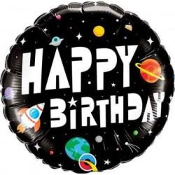 """Birthday Astronaut 18"""" Foil Balloon"""