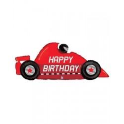 """Birthday Race Car Shape Foil Balloon - 43""""W"""