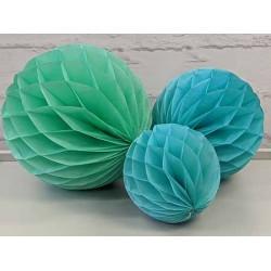 Honeycomb - Blue Green
