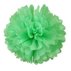 Tissue Pom Pom - Mint