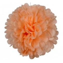 Tissue Pom Pom - Peach