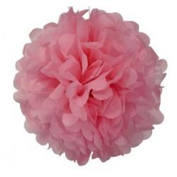 Tissue Pom Pom - Pink