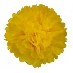 Tissue Pom Pom - Yellow