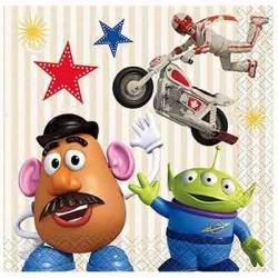 Toy Story 4 Napkin, 16pcs