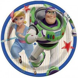 """Toy Story 4 7"""" Paper Plate, 8pcs"""