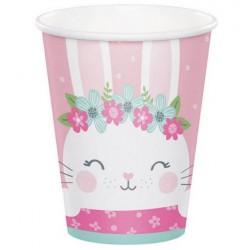 Birthday Bunny 9oz Paper Cup, 8pcs
