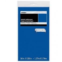 """Blue Rectangular Tablecover 54"""" x 108"""""""