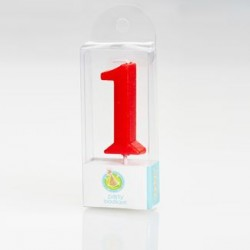 Numerical Pick Candle - Number 1