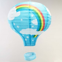 Lantern - Rainbow Hot Air Balloon