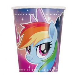 My Little Pony Flying Ponies 9oz Paper Cup, 8pcs