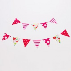 Bunting - Girl's Pattern