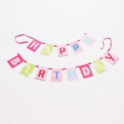 Bunting - Girl's Birthday