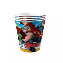 Avengers Animated 9oz Paper Cup, 12pcs