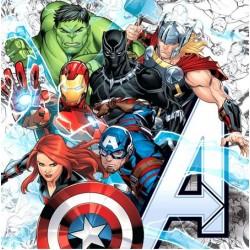 Avengers Animated Napkin, 20pcs