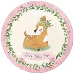"""Little Deer 9"""" Paper Plate, 8pcs"""