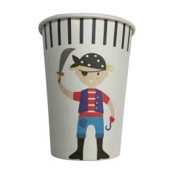 Pirate Captain 9oz Paper Cup, 12pcs