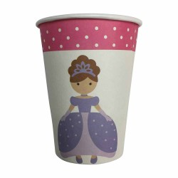 Sweet Princess 9oz Paper Cup, 12pcs