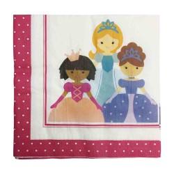 Sweet Princess Napkin 33 x 33cm, 12pcs