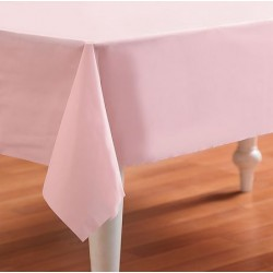 "Classic Pink Rectangular Tablecover 54"" x 108"""