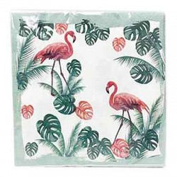 Flamingo Napkin, 20pcs
