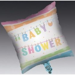 """Baby Clothes 18"""" Square Foil Balloon"""