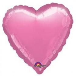 "18"" Heart Metallic Lavender Foil Balloon"