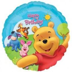 "Winnie the Pooh & Friends Sunny Birthday 18"" Foil Balloon"