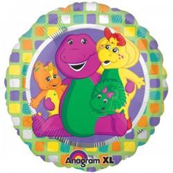 """Barney & Friends 18"""" Foil Balloon"""