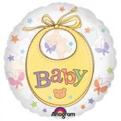"Precious Baby Clothesline 26"" Clear Balloon"