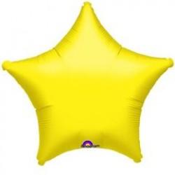 "19"" Star Yellow Foil Balloon"