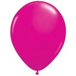 "11"" Round Wild Berry Latex Balloon (with helium)"